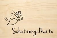 DIE LASEREI SO HOT Holzgrusskarte Sonstige 04, HGSO0104