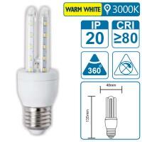 LED-Leuchte mit E27 Sockel, 6 Watt (entspricht ca. 45 Watt), warmwhite
