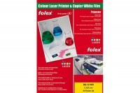 FOLEX Laserfolie BG-72 WO A4, 29729.125, 50 Folien