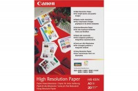 CANON Papier High Resolution A3, HR101NA3, InkJet 110g  20 Blatt