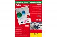 FOLEX Laser-Folie  A4, BG-72WO, 250my  50 Blatt