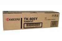 KYOCERA Toner yellow KM-C 850 10'000 Seiten, TK-805Y
