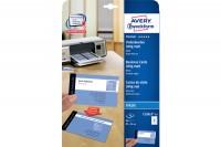 AVERY ZWECKFORM Visitenkarten 85x54mm, C32015-10, weiss, matt, 260g/m2 80 Karten