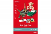 CANON Matte Photo Paper  A4, MP101A4, InkJet, 170g 50 Blatt
