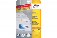 AVERY ZWECKFORM Universal-Etiketten 70x42,3mm, 3652-10, weiss 10 Blatt/210 Stk.
