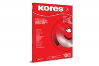 KORES Kohlepapier  A4, KD78492, schwarz  100 Blatt