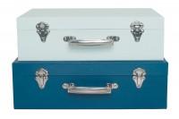 JABADABADO Koffer Set blau, A3202