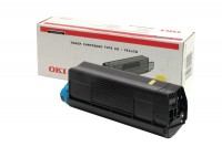 OKI Toner-Kit gelb High-Capacity 5000 Seiten (42127405, TYPE-C6)