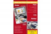 FOLEX Laserfolie CLP  A4, 2999W.050, selbstklebend 50 Folien