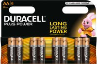 DURACELL Batterien Plus Power 1,5 V, 4-017764, Mignon/LR6/AA 8 Stück