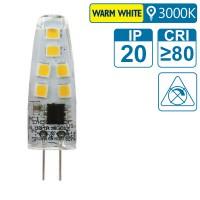 LED-Leuchte mit G4 Sockel, 2 Watt (entspricht ca. 20 Watt), warmwhite