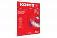 KORES Durchschreibpapier 1200 A4, KD79086, blau M 10 Blatt