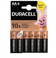 DURACELL Batterien Plus Power AA/1,5 V, LR6/MN150, Mignon 6 Stück