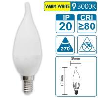 LED-Leuchte mit E14 Sockel, 3 Watt (entspricht ca. 25 Watt), warmwhite