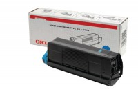 OKI Toner-Kit cyan High-Capacity 5000 Seiten (42127407, TYPE-C6)