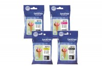 BROTHER Valuepack Tinte CMYBK DCP-J774DWW 400 Seiten, LC-3213V