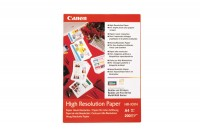 CANON Papier High Resolution A4, HR101NA4, Bubble-Jet, 106g 50 Blatt