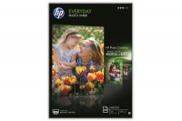 Hewlett Packard Fotopapier Seidenmatt DIN A4 weiss DIN A4 (Q5451A)