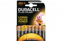 DURACELL Batterien Plus Power AAA/1,5 V, 4-018549, Micro 8 Stück
