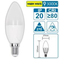 LED-Leuchte mit E14 Sockel, 4 Watt (entspricht ca. 30 Watt), warmwhite