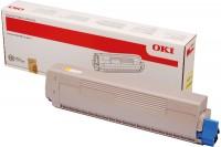 OKI Toner-Kit gelb High-Capacity 10000 Seiten (45862814)
