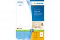 HERMA Adress-Etiketten 99x93mm, 4653, weiss, permanent 100 Stück