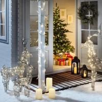 LED Lichterkette 6M 220V wasserdicht warmes Weiss
