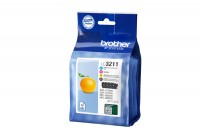 BROTHER Valuepack Tinte CMYBK DCP-J774DWW 200 Seiten, LC-3211V