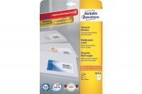 AVERY ZWECKFORM Universal-Etiketten 210x148mm, 3655-10, weiss 10 Blatt/20 Stk.