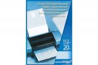 AURORA Transparentpapier  A4, CA20, 75g  20 Blatt