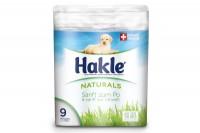 HAKLE Toilettenpapier FSC weiss, 4419747, 150 Blatt, 3-lagig 9 Stück