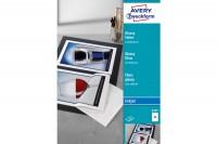 AVERY ZWECKFORM Ink-Jet Folien  A4, 2507Z, 0,2mm,selbstklebend 50 Blatt