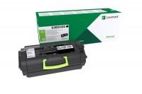 Lexmark Toner-Kit Return Program Kartonage schwarz High-Capacity 25000 Seiten (63B2H00)